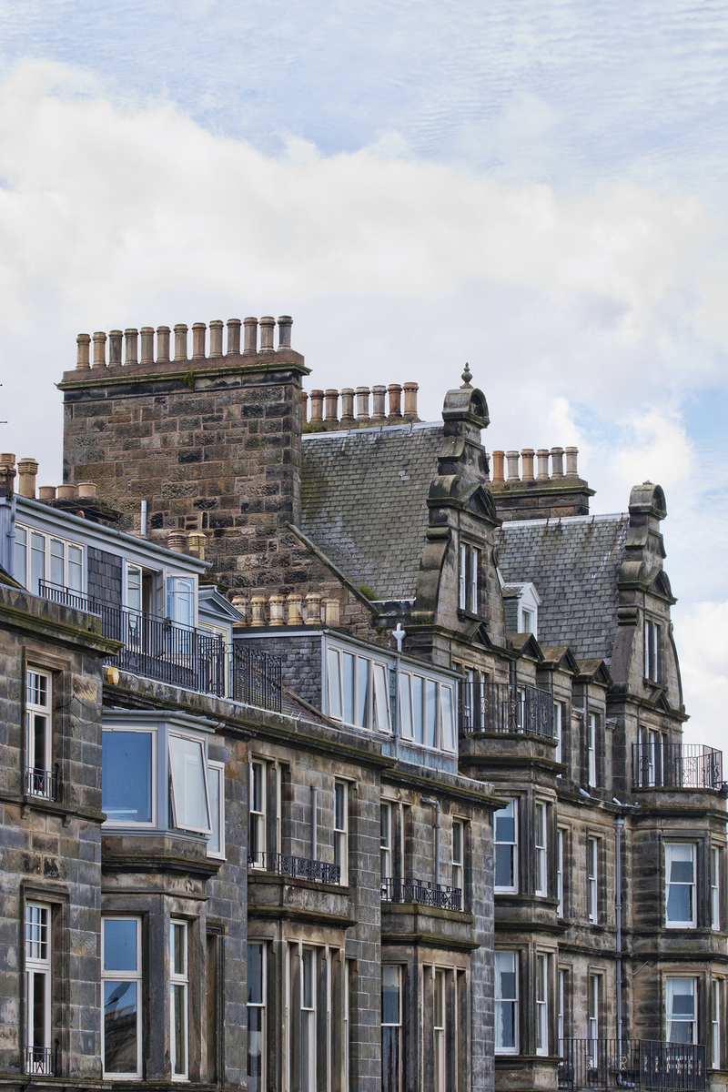 42 chimneys and roofs st andrews