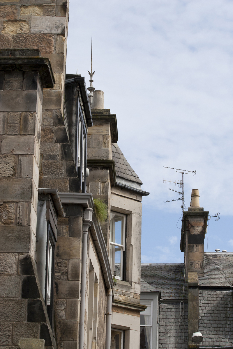 38 chimneys and roofs st andrews