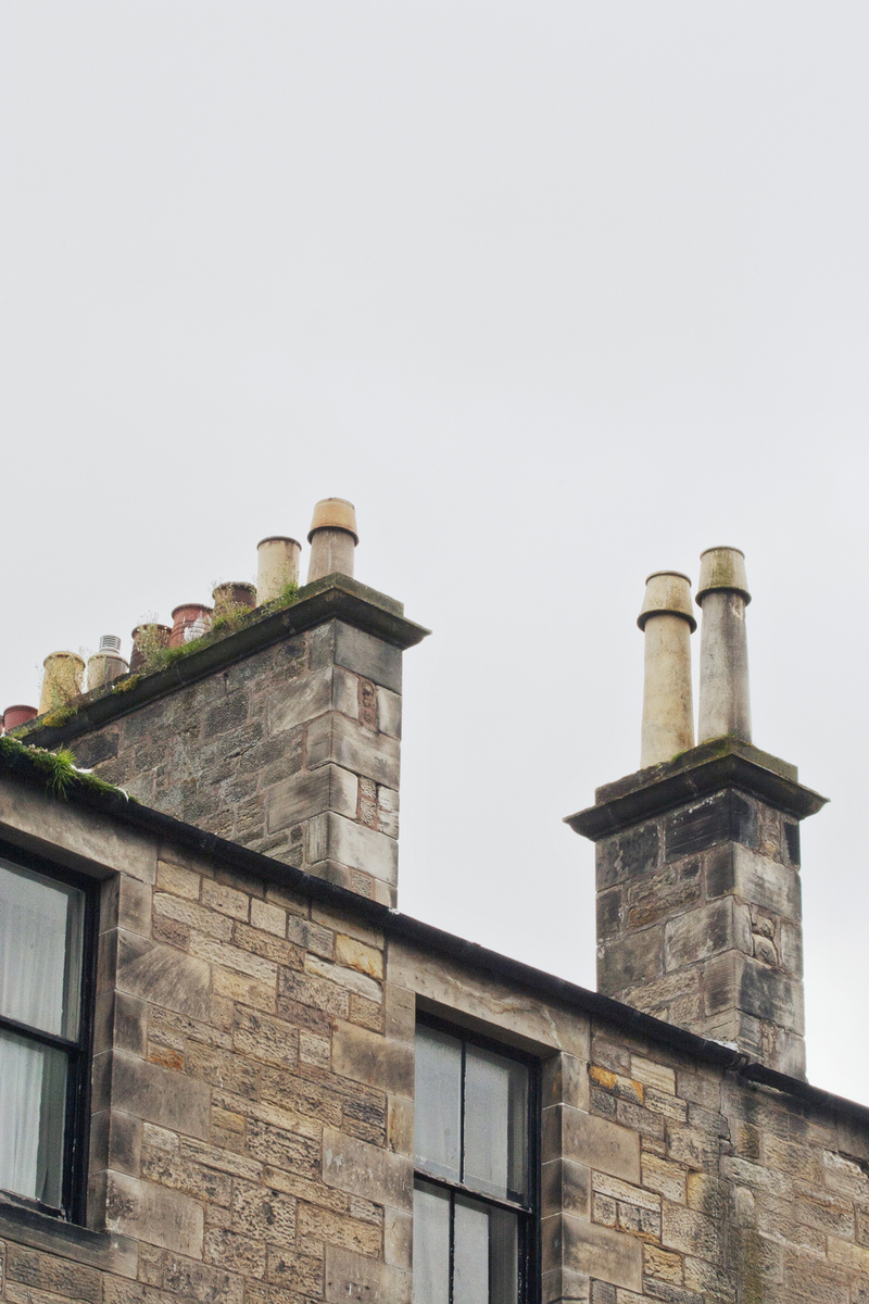 18 chimneys and roofs st andrews