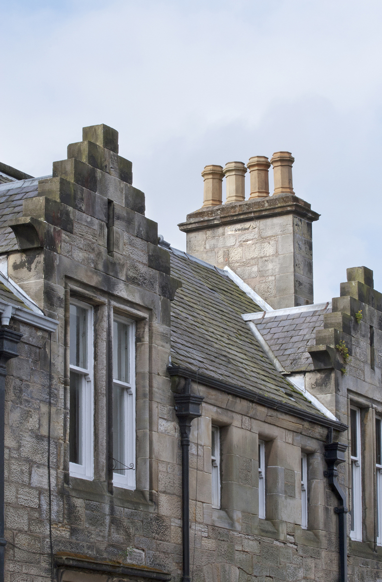 14 chimneys and roofs st andrews