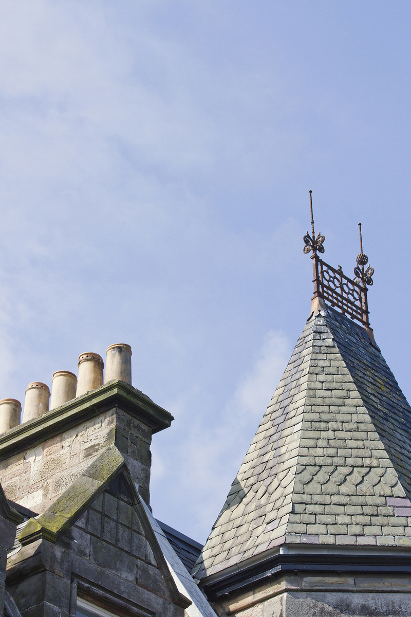 5 chimneys and roofs st andrews