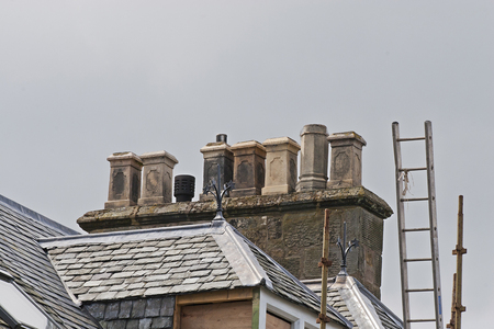 39 chimneys and roofs st andrews
