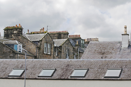 37 chimneys and roofs st andrews