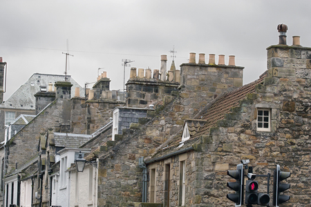 36 chimneys and roofs st andrews