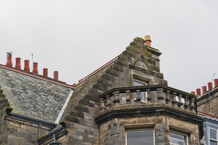 33 chimneys and roofs st andrews