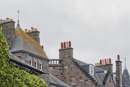 31 chimneys and roofs st andrews
