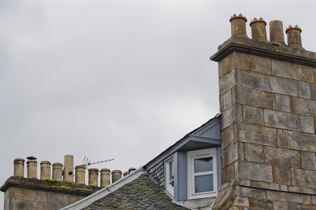 30 chimneys and roofs st andrews