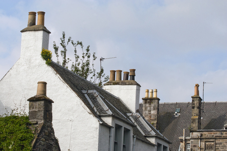 12 chimneys and roofs st andrews