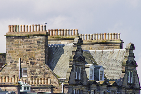 10 chimneys and roofs st andrews